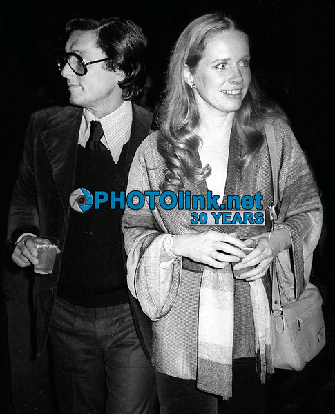 Robert Evans and Liv Ullman 1978<br /> Photo By Adam Scull/PHOTOlink.net