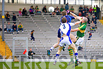 Kieran Donaghy scores a goal against Waterford last Saturday in Fitzgerald Stadium for the Munster GAA football championship