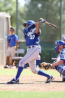 Alex Llanos - Kansas City Royals - 2010 Instructional League.Photo by:  Bill Mitchell/Four Seam Images..