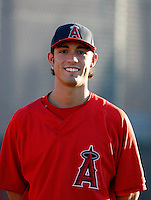 Randal Grichuk -  AZL Angels - 2009 Arizona League .Photo by:  Bill Mitchell/Four Seam Images