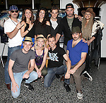 The Broadway Cast of 'Rock Of Ages' .attends  a screening of 'Rock Of Ages' at the Regal E-Walk Stadium Theaters in New York City on June 11, 2012.