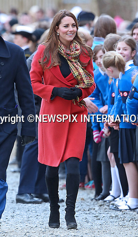 """CATHERINE, DUCHESS OF CAMBRIDGE AND PRINCE WILLIAM.accompanied by Prince Charles (Duke of Rothesay) opened the new Tamar Manoukian Outdoor Centre at Dumfries House, Glasgow_05/04/2013.Mandatory Credit Photo: ©Butler/NEWSPIX INTERNATIONAL..**ALL FEES PAYABLE TO: """"NEWSPIX INTERNATIONAL""""**..IMMEDIATE CONFIRMATION OF USAGE REQUIRED:.Newspix International, 31 Chinnery Hill, Bishop's Stortford, ENGLAND CM23 3PS.Tel:+441279 324672  ; Fax: +441279656877.Mobile:  07775681153.e-mail: info@newspixinternational.co.uk"""