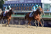3rd November, 2018, Churchill Downs, Louisville, Kentucky, USA; Monomy Girl with Forent Geroux up wins the Breeders Cup Distaff. Churchill Downs racecourse.