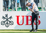 Robert Rock of England tees off the first hole during the 58th UBS Hong Kong Golf Open as part of the European Tour on 10 December 2016, at the Hong Kong Golf Club, Fanling, Hong Kong, China. Photo by Marcio Rodrigo Machado / Power Sport Images