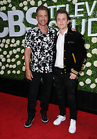 01 August  2017 - Studio City, California - Rob Lowe, Johnny Lowe.  2017 Summer TCA Tour - CBS Television Studios' Summer Soiree held at CBS Studios - Radford in Studio City. Photo Credit: Birdie Thompson/AdMedia