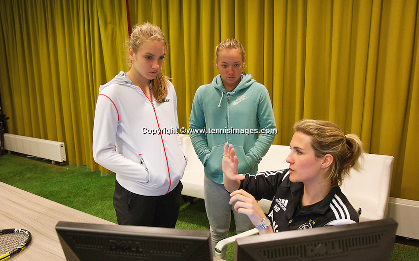 Netherlands, Amsterdam, April 19, 2015 De Toekomst, Talent Program<br /> Photo: Tennisimages/Henk Koster