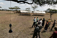 Robanda's council tours tent camp that gives money to Robanda for every tent night tourists spend in the camp.  Robanda is the town that Grumeti wants to move.  It is also the town that FZS says will interfere with the migration as it grows.  Ft. Ikoma (all SNP employees) seems a greater threat to the migration.  Before Grumeti took over their reserves and Ikorongo, local people were allowed to hunt a quota.  Now they can hunt nothing and cow meet is 1500TZ per pound.  Noone can afford that.  The town and Grumeti have growing tensions, that if left unchecked will lead to violence.