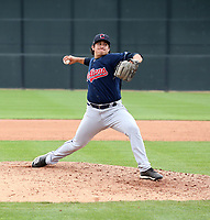 Aaron Pinto - Cleveland Indians 2020 spring training (Bill Mitchell)