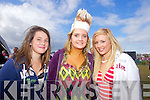 LIPSTICK: Amy Doran, Jessica Keane and Sarah Claffey, Asdee who came see JEDWARD at the Atlantic Music Sessions Festival on Sunday in Ballybunion..