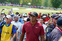 Tiger Woods walks the 5th hole during the final round of the 100th PGA Championship at Bellerive Country Club, St. Louis, Missouri, USA. 8/12/2018.<br /> Picture: Golffile.ie | Brian Spurlock<br /> <br /> All photo usage must carry mandatory copyright credit (&copy; Golffile | Brian Spurlock)