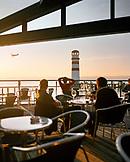 AUSTRIA, Podersdorf, having a glass of wine at Wein er Sektbar, Bar and Restaurant