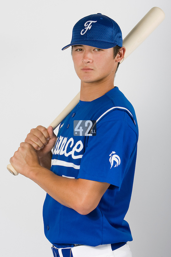 15 Aug 2007: Kenji Hagiwara - Team France Baseball