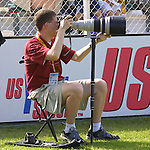 Brad Smith at SAS Stadium in Cary, North Carolina on 4/5/03 during a game between the Carolina Courage and Washington Freedom. The Washington Freedom won the game 2-1.