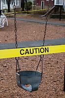 Coronavirus response - Closed playgrounds - Belmont MA - 20 Mar 2020