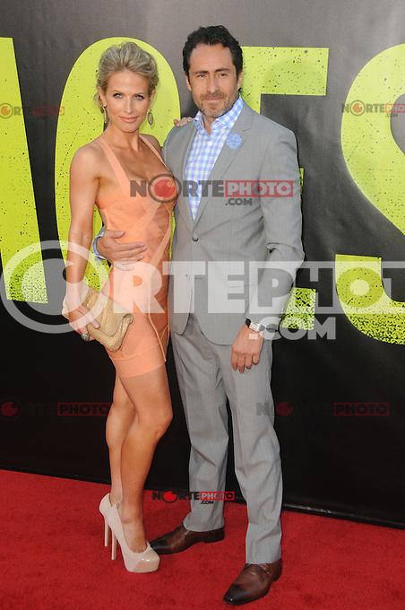 Lisset Gutierrez and Demain Bichir at the Premiere of Universal Pictures' 'Savages' at Westwood Village on June 25, 2012 in Los Angeles, California. ©mpi35/MediaPunch Inc. /NORTEPHOTO* **SOLO*VENTA*EN*MEXICO** **CREDITO*OBLIGATORIO** **No*Venta*A*Terceros** **No*Sale*So*third** *** No*Se*Permite Hacer Archivo** **No*Sale*So*third** *Para*más*información:*email*NortePhoto@gmail.com*web*NortePhoto.com*