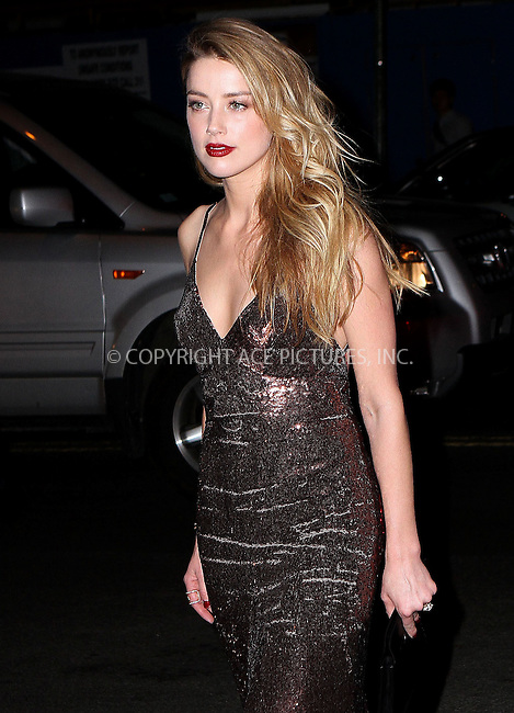 WWW.ACEPIXS.COM<br /> <br /> April 18 2015, New York City<br /> <br /> Actress Amber Heard arriving at the 2015 Tribeca Film Festival - World Premiere of 'When I Live My Life Over Again' at the SVA Theater 1 on April 18, 2015 in New York City.<br /> <br /> <br /> By Line: Nancy Rivera/ACE Pictures<br /> <br /> <br /> ACE Pictures, Inc.<br /> tel: 646 769 0430<br /> Email: info@acepixs.com<br /> www.acepixs.com