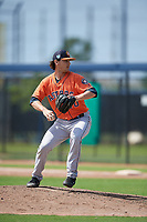 Houston Astros pitcher Tanner Duncan (70) during a Minor League Spring Training Intrasquad game on March 28, 2019 at the FITTEAM Ballpark of the Palm Beaches in West Palm Beach, Florida.  (Mike Janes/Four Seam Images)