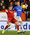 06.02.2019:Aberdeen v Rangers: Greg Stewart and Borna Barisic