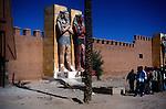 Atlas film studios at  Ouarzazate, Morocco