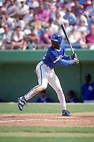 Kansas City Royals Brian McRae during spring training circa 1992 at Chain of Lakes Park in Winter Haven, Florida.  (MJA/Four Seam Images)