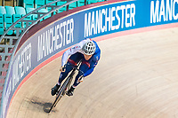 Picture by Alex Whitehead/SWpix.com - 11/10/2017 - British Cycling - Great Britain Cycling Team Sprint Practice Session - HSBC UK National Cycling Centre, Manchester, England - Ryan Owens.