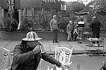 Silver Jubilee Street Party 1977  UK. Hampstead north London.<br />