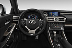 Car pictures of steering wheel view of a 2015 Lexus IS 350 4 Door Sedan