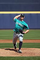 Joe Wieland - Seattle Mariners 2016 spring training (Bill Mitchell)