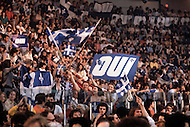 Montreal, Canada, May 20th1980. On May 20 1980, called by the Parti Quebequois (PQ) government, the first referendum on whether Quebec should pursue a path toward sovereignty took place. The OUI (yes) party was defeated by a 59.56 percent to 40.44 percent margin for the NO party. - Quebequoise secessionist supporters during a rally for the OUI party.