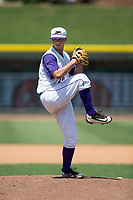 Winston-Salem Dash starting pitcher Ian Clarkin (20) in action against the Salem Red Sox at BB&T Ballpark on July 23, 2017 in Winston-Salem, North Carolina.  The Dash defeated the Red Sox 11-10 in 11 innings.  (Brian Westerholt/Four Seam Images)