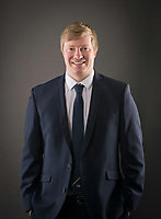 Picture by Allan McKenzie/SWpix.com - 09/02/18 - Cricket - Yorkshire County Cricket Club Corporate Headshots - Headingley Cricket Ground, Leeds, England - Sam Gascoigne.