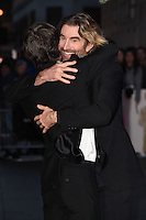 "Cillian Murphy and Sharlto Copley<br /> at the London Film Festival 2016 premiere of ""Free Fire at the Odeon Leicester Square, London.<br /> <br /> <br /> ©Ash Knotek  D3182  16/10/2016"