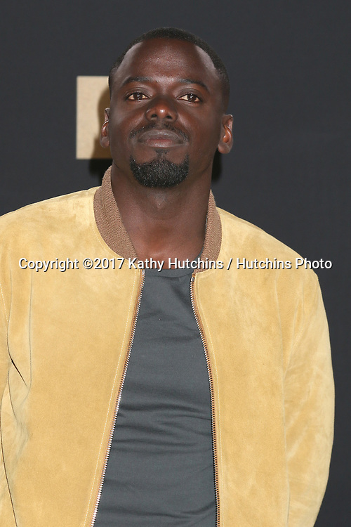 LOS ANGELES - MAY 7:  Daniel Kaluuya at the MTV Movie and Television Awards on the Shrine Auditorium on May 7, 2017 in Los Angeles, CA