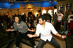 "Corbin Bleu teaches dance to the kids of Camp Broadway at the 14th Annual Kids' Night on Broadway 2010  ""Fan Festival"" on February 2, 2010 at Madame Tussauds New York - Corbin Bleu (new star of In the Heights and High School Musical veteran.  (Photo by Sue Coflin/Max Photos)"