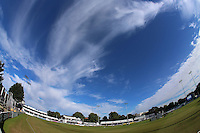Blue skies over the ground during Essex CCC vs Glamorgan CCC, Specsavers County Championship Division 2 Cricket at the Essex County Ground on 12th September 2016