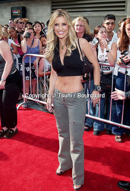 Jillian Barbieri arrives at the American Idol Finale at the Kodak Theatre in Los Angeles. September 4, 2002.