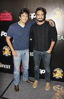 HOLLYWOOD,CA - OCTOBER 18: Munis Rashid and Maazin Kamal attend the TRASH FIRE / Screamfest red carpet at TCL Chinese Theater in Hollywood, California on October 18, 2016. Credit: Koi Sojer/Snap'N U Photos /MediaPunch
