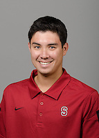 STANFORD, CA - September 27th, 2011: Stanford Volleyball athlete portrait.