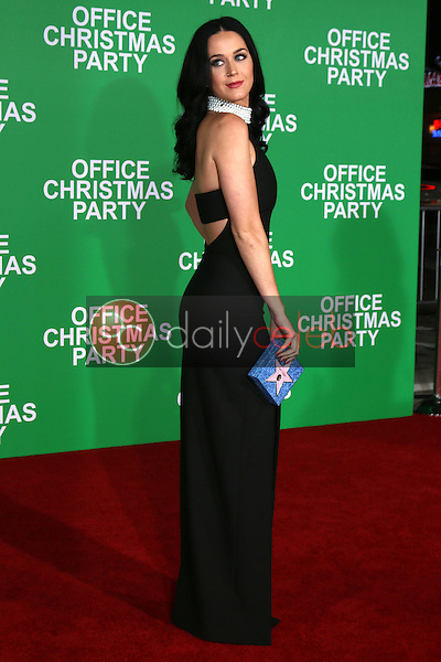 """Katy Perry<br /> at the """"Office Christmas Party"""" Premiere, Village Theater, Westwood, CA 12-07-16<br /> David Edwards/DailyCeleb.com 818-249-4998"""