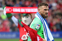 Preston North End's Declan Rudd lines up before kick off<br /> <br /> Photographer David Shipman/CameraSport<br /> <br /> The EFL Sky Bet Championship - Nottingham Forest v Preston North End - Saturday 31st August 2019 - The City Ground - Nottingham<br /> <br /> World Copyright © 2019 CameraSport. All rights reserved. 43 Linden Ave. Countesthorpe. Leicester. England. LE8 5PG - Tel: +44 (0) 116 277 4147 - admin@camerasport.com - www.camerasport.com