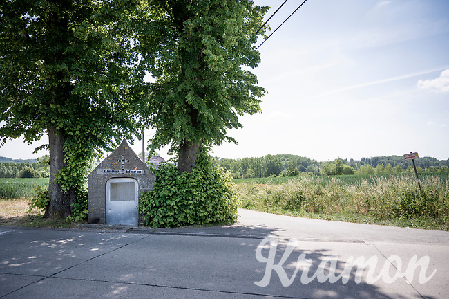 roadside chapel in the Lepelstraat in brakel<br /> <br /> cycling hotspots & impressions in the Vlaamse Ardennen (Flemish Ardennes) along the 181km Spartacus (Chasing Cancellara) cycling route<br /> <br /> Cycling In Flanders <br /> Flanders Tourist Board<br /> <br /> ©kramon