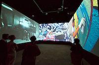 55th Art Biennale in Venice - The Encyclopedic Palace (Il Palazzo Enciclopedico).<br /> Giardini. Venezuela Pavilion. &quot;El arte urbano - Una est&eacute;tica de la subversi&oacute;n&quot;.