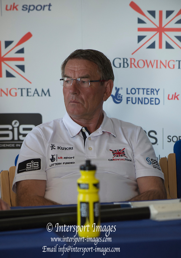 Caversham. Reading. Chief CoacH H/W Men, Jurgan GROBLER, GBRowing  European Team Announcement, GB Training Base Reading. 13.05.2015. Wednesday. [Mandatory Credit: Peter Spurrier/Intersport-images.com