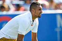 Washington, DC - August 4, 2019: Nick Kyrgios (AUS) during the Men's finals of the Citi Open at the Rock Creek Tennis Center, in Washington D.C. (Photo by Philip Peters/Media Images International)