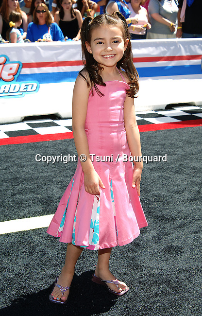 Ariel Gade (Dark Water)  arriving at the HERBIE: Full Loaded Premiere at the El Capitan Theatre in Los Angeles. June 19, 2005.