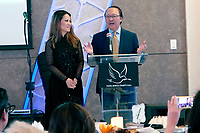 BURBANK - APR 27: Leyna Nguyen, Nam Loc Nguyen at the Faith, Hope and Charity Gala hosted by Catholic Charities of Los Angeles at De Luxe Banquet Hall on April 27, 2019 in Burbank, CA