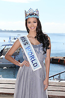 Megan Young, Miss World 2013 attends the Mipcom in Cannes - France