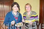 Sampling the Fish Paella cooked by Gurka Arietta of Spa Sea Foods  at the Listowel Arms Hotel on Saturday were Lisa & Hilda Doody, Leim Kilflynn.