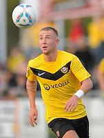 Fussball, 2. Bundesliga, Saison 2011/12, Testspiel SG Dynamo Dresden - Slovan Liberec, Pirna. Dresdens Marvin Knoll am Ball.