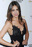 LOS ANGELES, CA - AUGUST 19: Actress/singer Eiza González arrives at the Premiere Of Lionsgate Premiere's 'She's Funny That Way' at Harmony Gold on August 19, 2015 in Los Angeles, California.